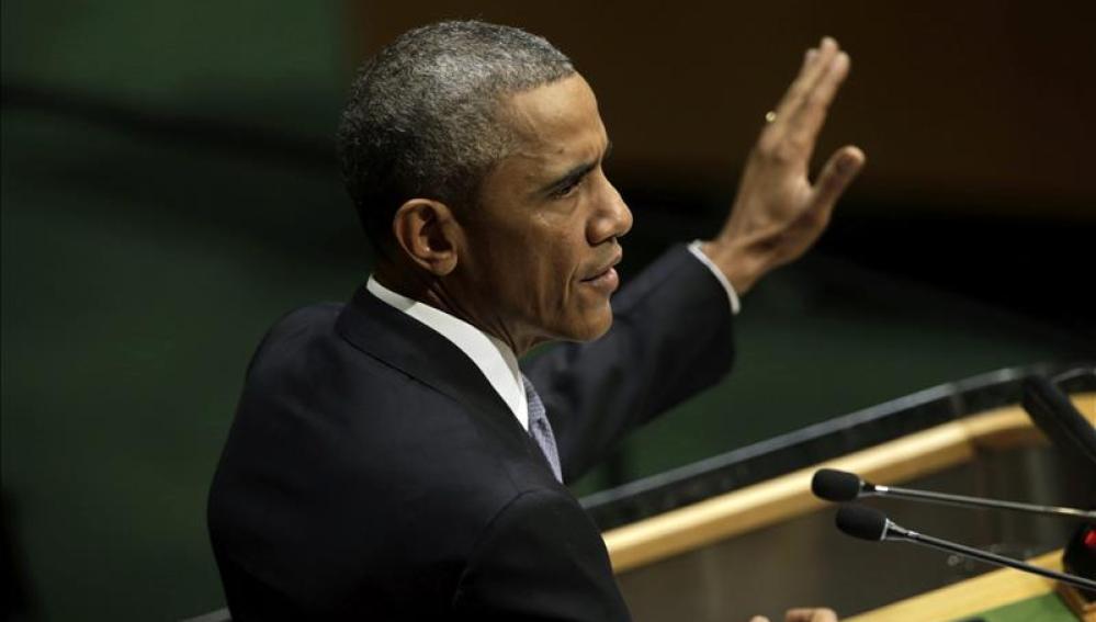 Barack Obama, en la Asamblea General de la ONU