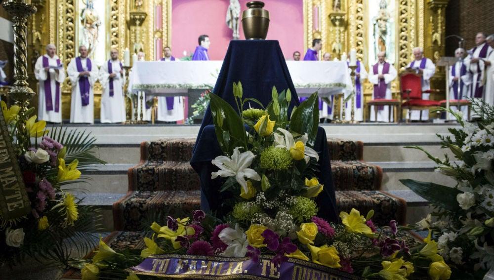 Funeral del misionero Manuel García Viejo