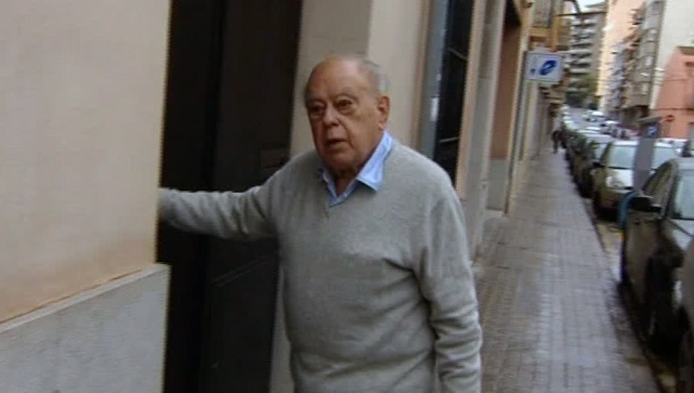 Pujol, grabado por Antena 3