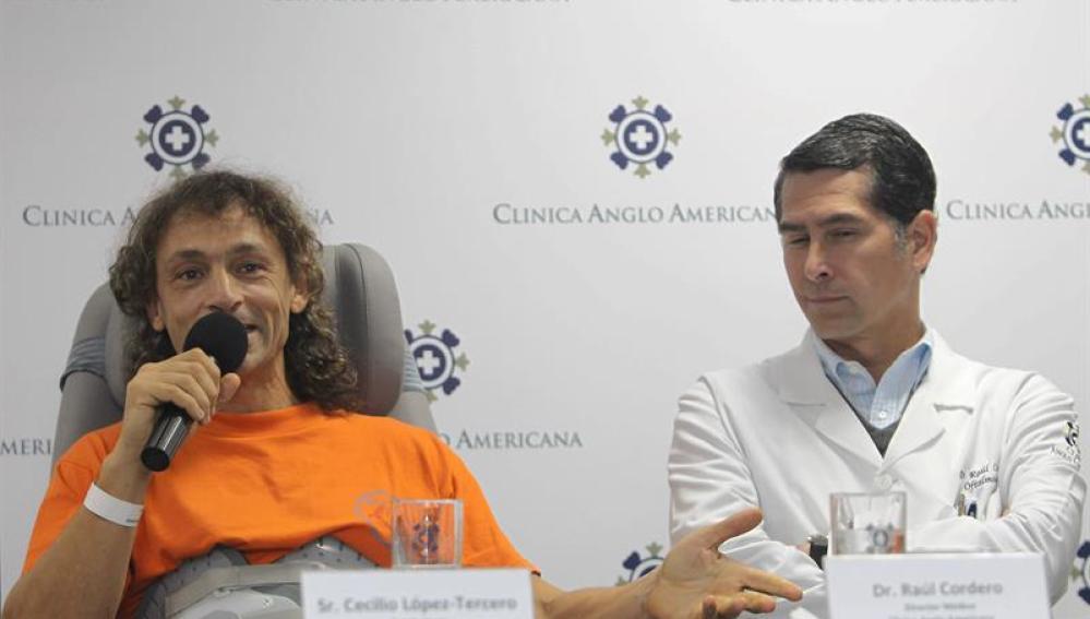 El espeleólogo español,  Cecilio López Tercero