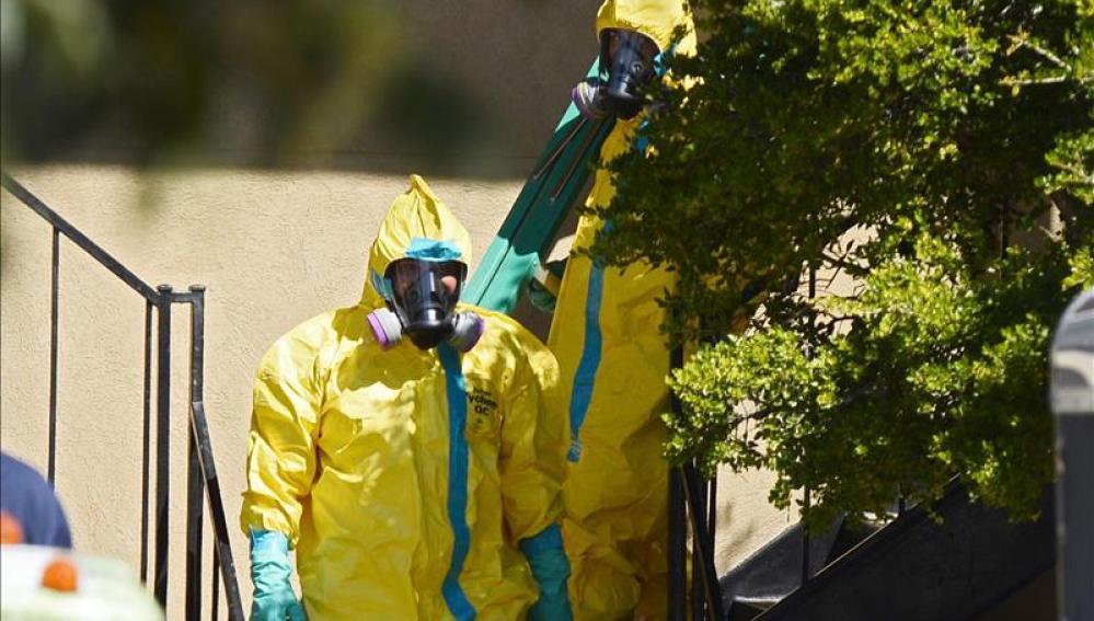 Protocolo de actuación contra el ébola