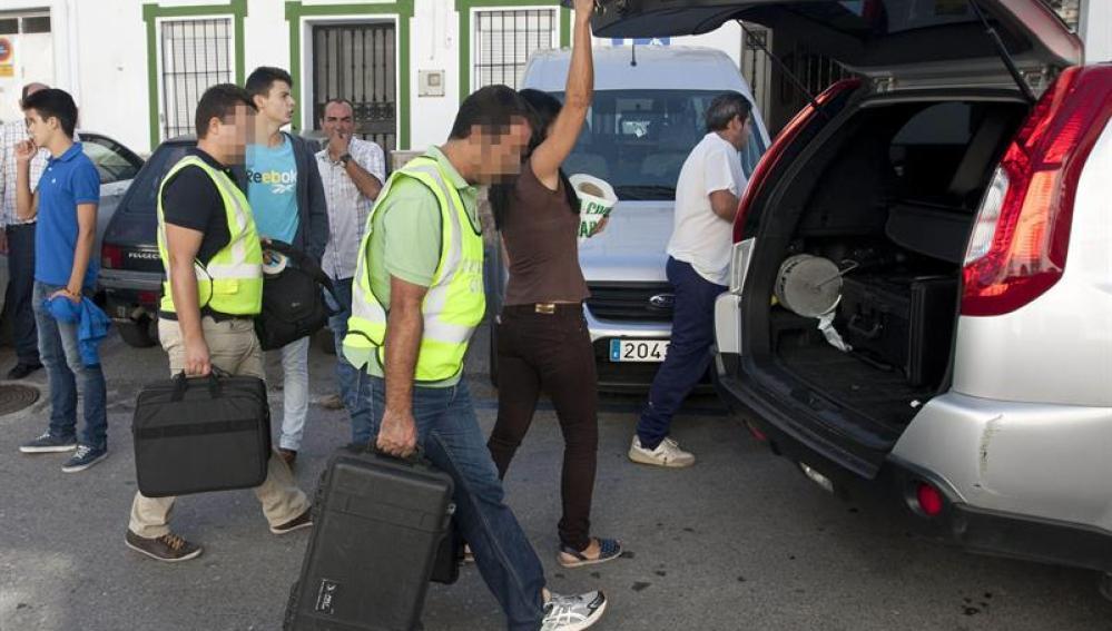 Dos muertos en Ubrique