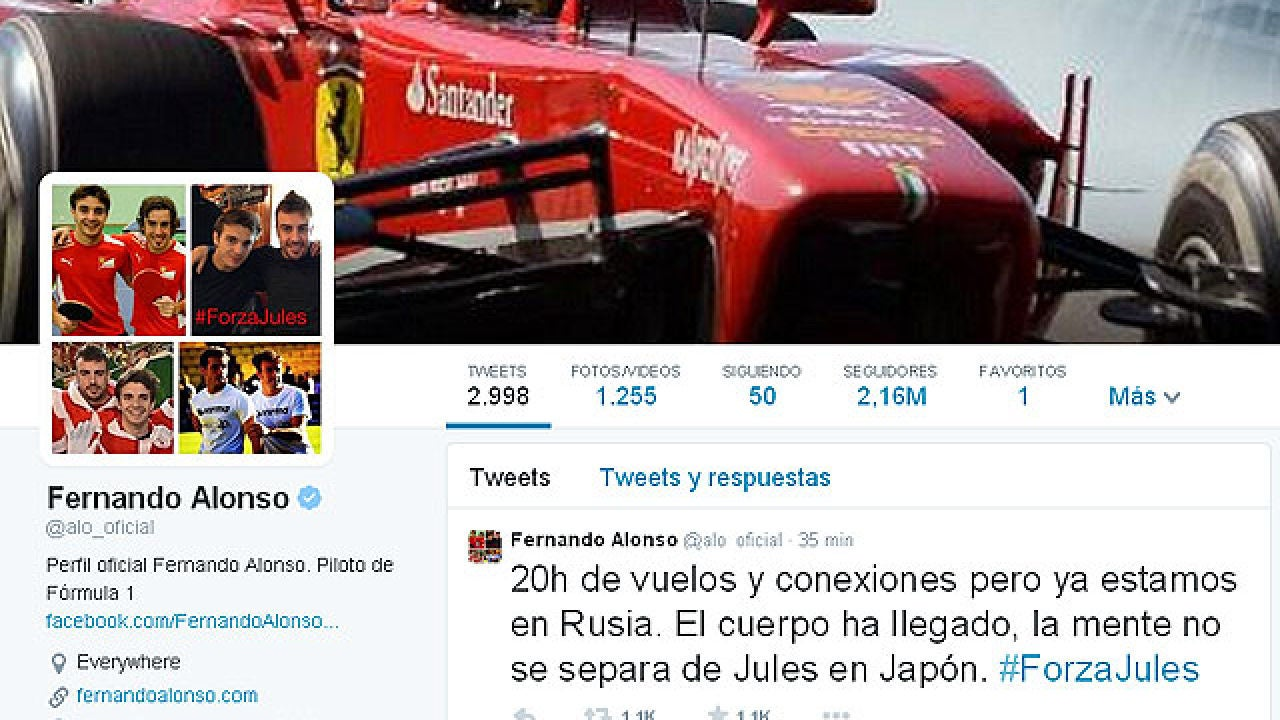 """Fernando Alonso: """"Ya estamos en Rusia, la mente no se"""