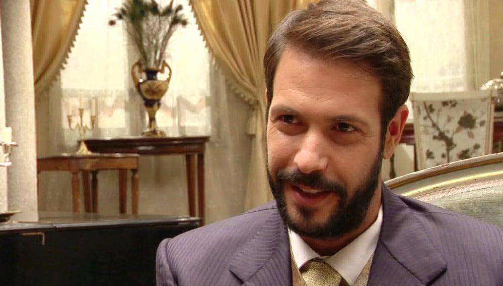 Chico García en 'El secreto de Puente Viejo'
