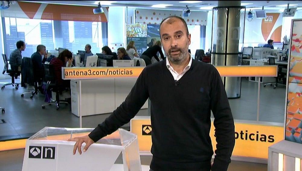 Miguel Sayagués, director de Noticias Fin de Semana