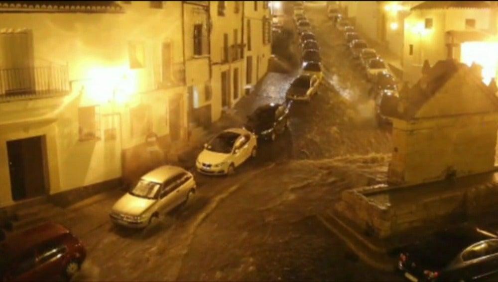 Riadas por la lluvia en Andalucía
