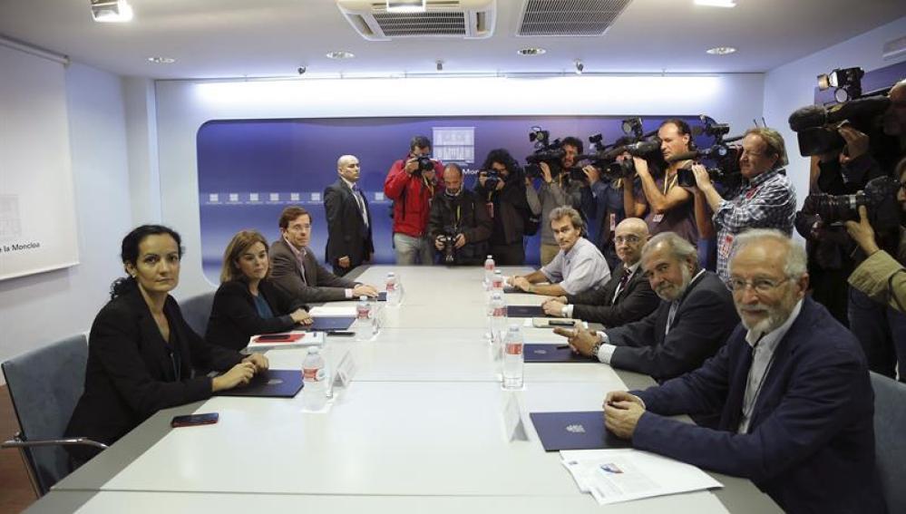 Reunión del comité especial para la gestión en España del ébola