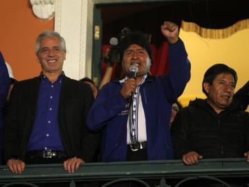 El presidente boliviano, Evo Morales