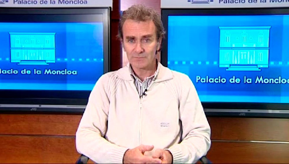 Fernando Simón, portavoz del comité de Expertos