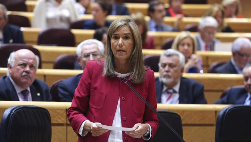 Ana Mato en declaraciones al Senado