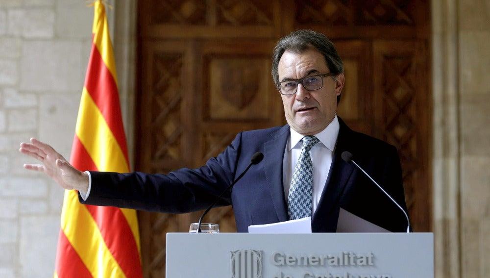 Artur Mas sigue adelante con el 9N