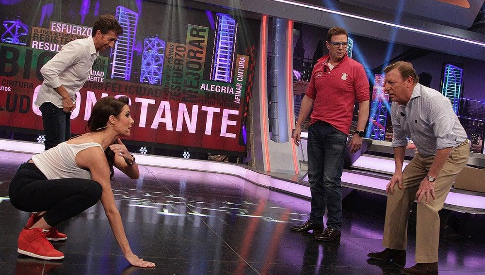 Los Morancos, Pilar Rubio, Pablo Motos en El Hormiguero 3.0