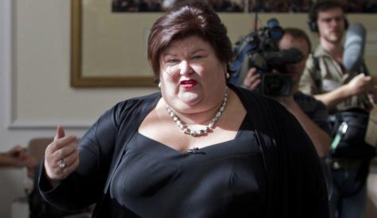 Maggie De Block, ministra de Sanidad, Asunto Sociales y Deporte belga
