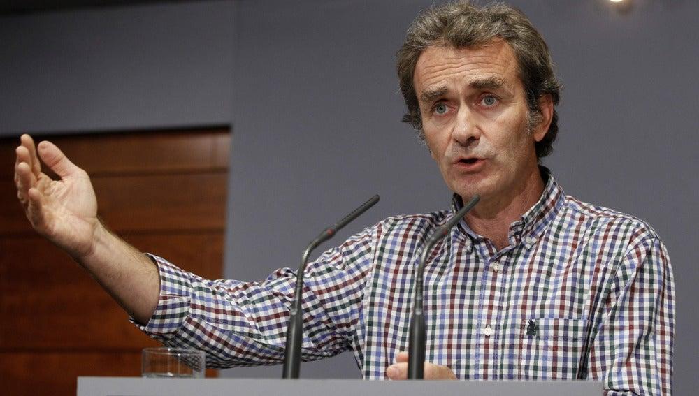 Fernando Simón, miembro del comité especial contra el ébola