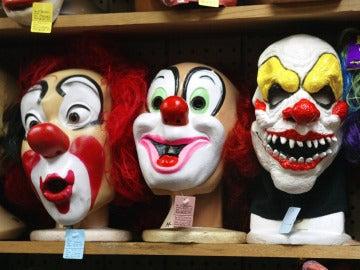 Máscaras de payasos