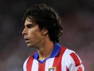 Tiago, durante un partido con el Atlético