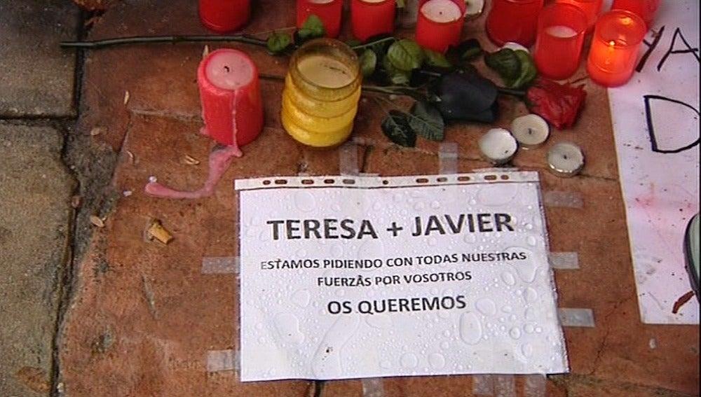 Apoyo vecinal a Teresa Romero.