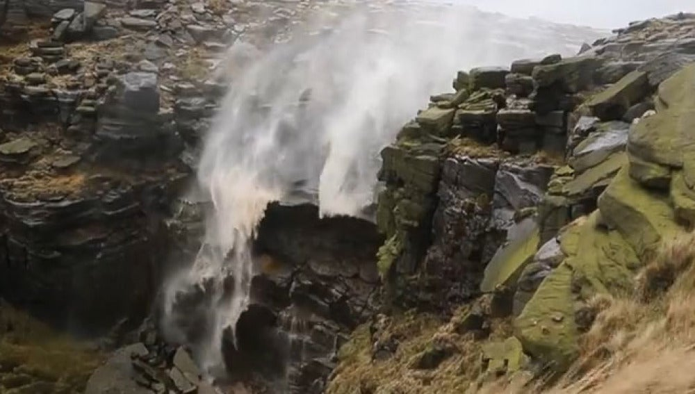 Cascada del revés
