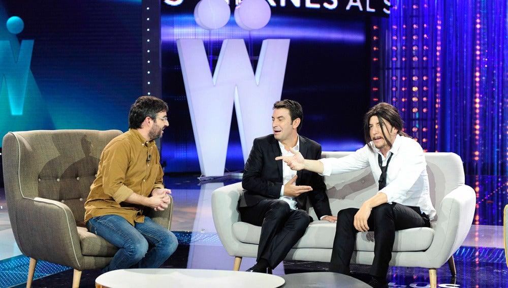 Pablo Iglesias entrevista Jordi Évole