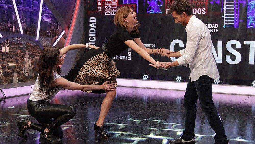 Manuela Velasco, Pilar Rubio y Pablo Motos en El Hormiguero 3.0
