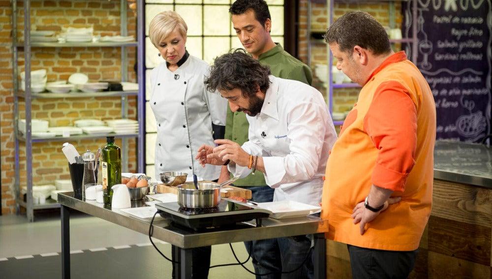 David Guerrero en Top Chef