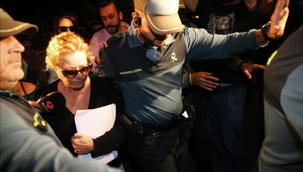 Maite Zaldívar, exmujer del exalcalde de Marbella Julián Muñoz
