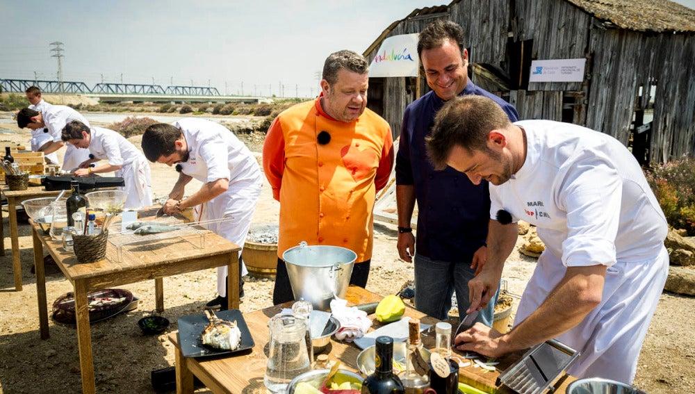 Los concursantes tendrá que replicar los platos de Ángel León en Cádiz