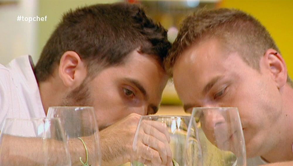 Carlos y Víctor