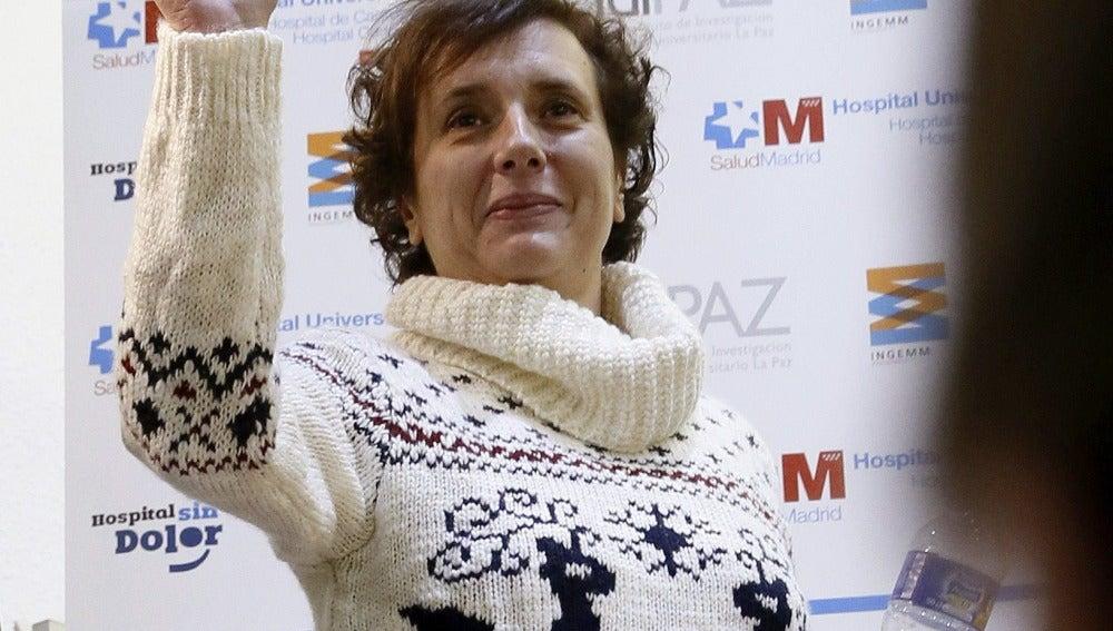 Teresa Romero.