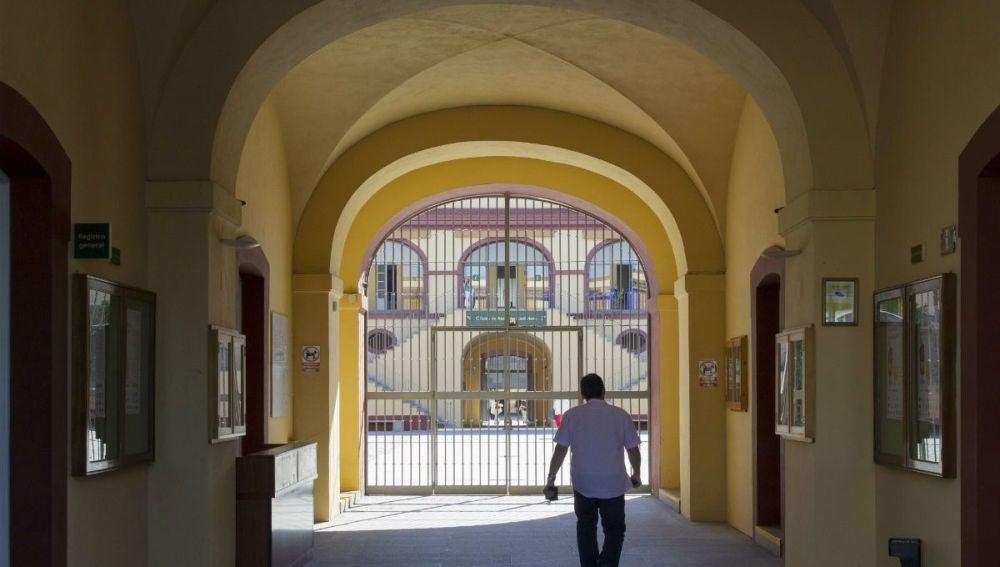 Entrada a la diputación de Sevilla