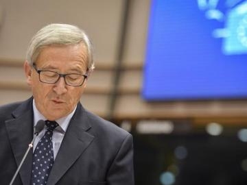 Juncker comparece ante el pleno de la Eurocámara