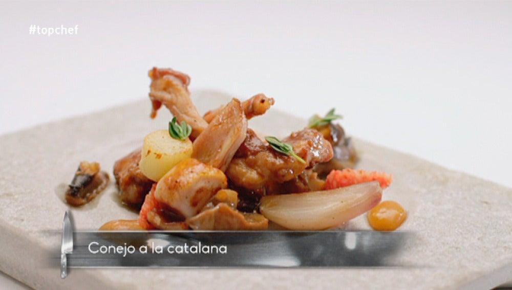 Conejo a la catalana