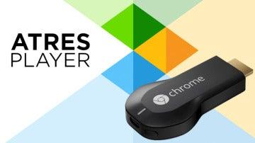 La app de Atresplayer incorpora compatibilidad con el Chromecast de Google