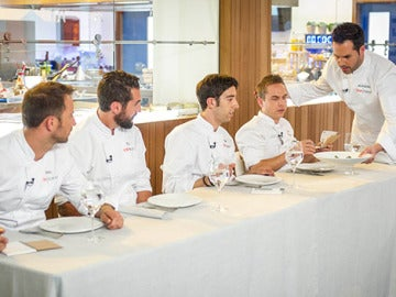 Críticas a Joaquín en Top Chef