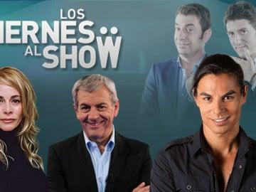 Julio Iglesias Jr., Belén Rueda y Carlos Sobera son los invitados de este viernes