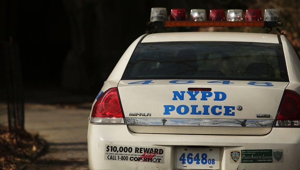 Coche de la Policía de Nueva York