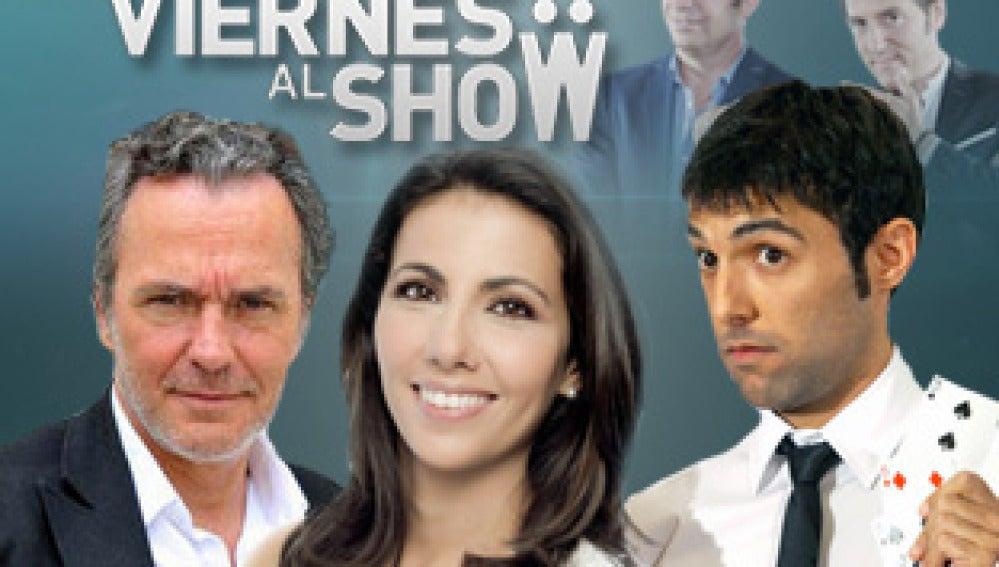 Coronado y Ana Pastor en Los Viernes al show