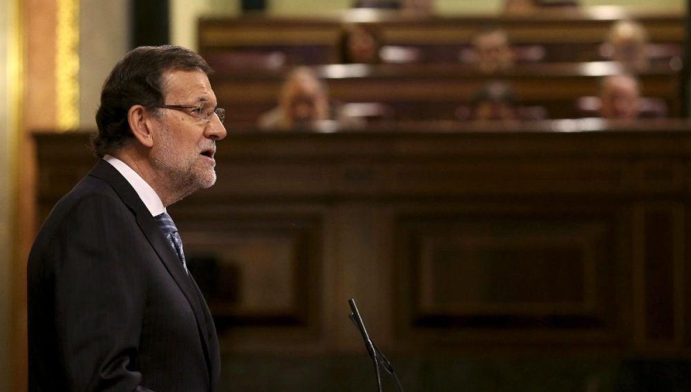 Mariano Rajoy comparece en el Congreso