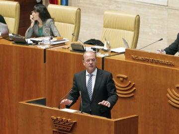 Monago comparece en el Parlamento de Extremadura
