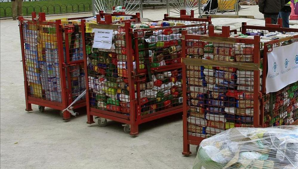 Arranca la 'Gran Colecta' del Banco de Alimentos