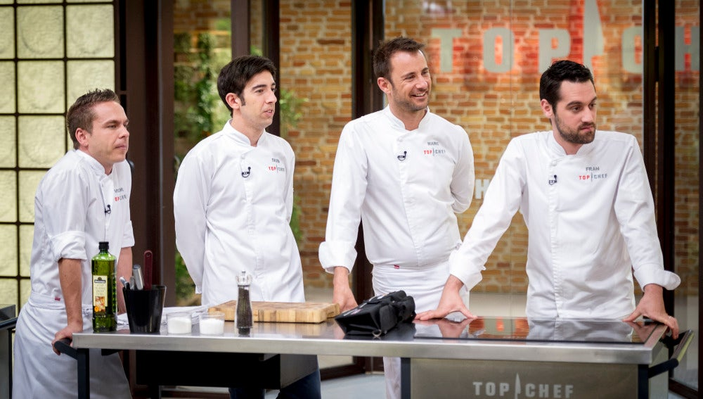 Los finalistas de 'Top Chef'