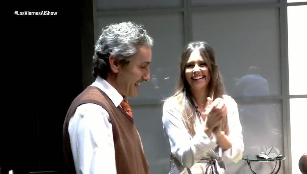 Cristina Pedroche sorprende a David Fernández