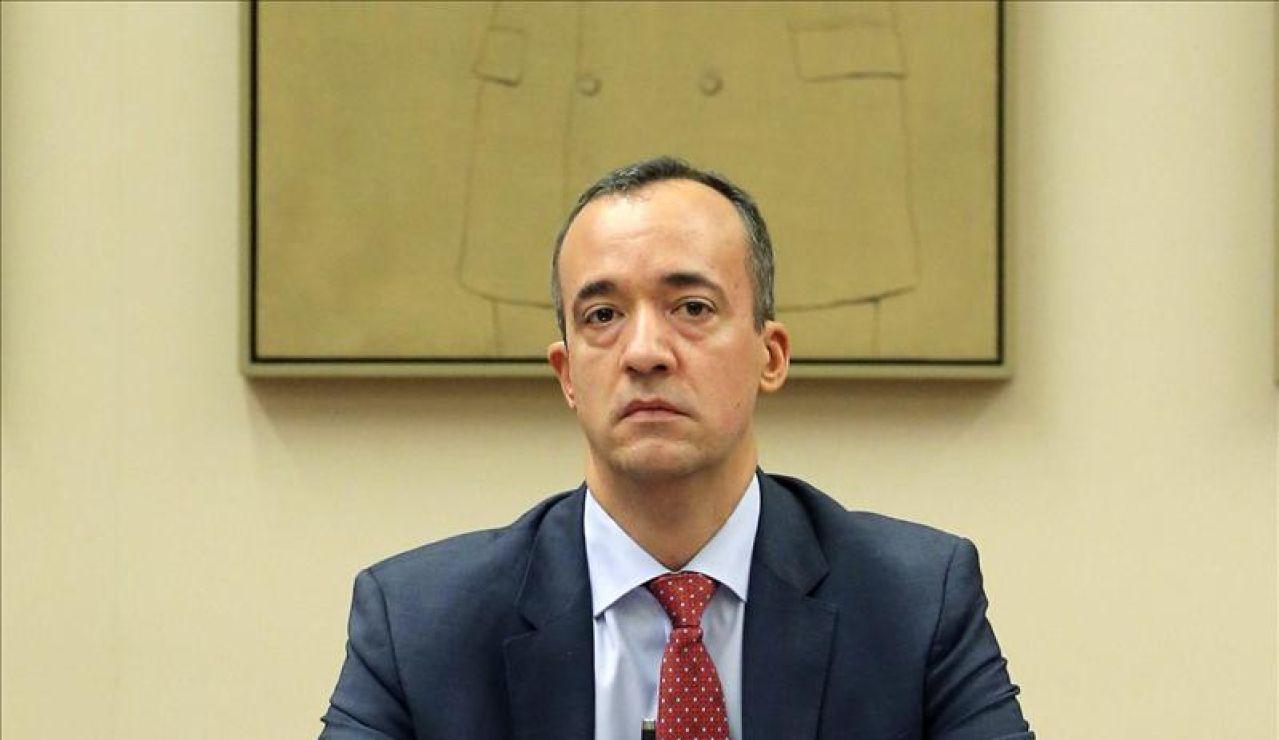 El exsecretario de Estado de Seguridad, Francisco Martínez.