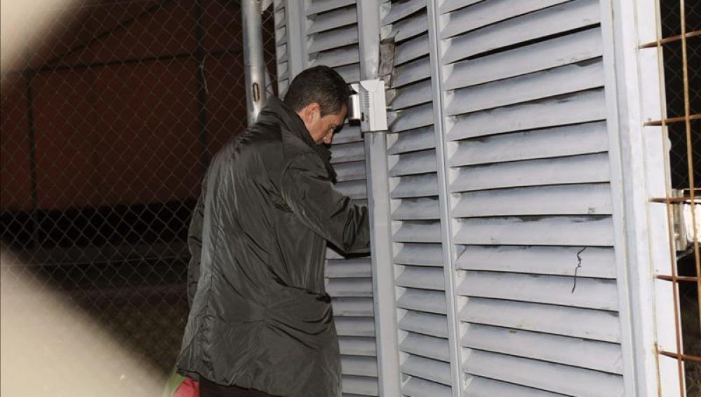 El expresidente balear Jaume Matas ingresa en el centro de inserción social.