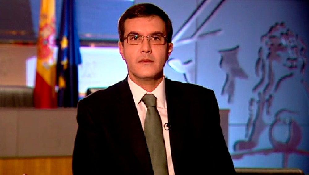 José Luis Ayllón, secretario de Estado de Relaciones en las Cortes