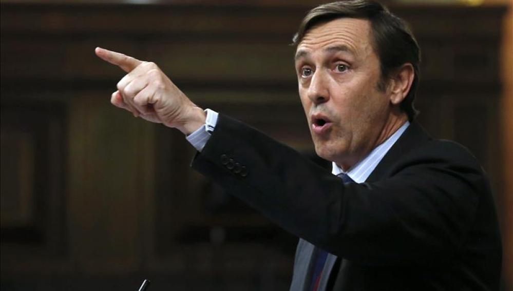 Rafel Hernando, nuevo portavoz del PP en el Congreso.