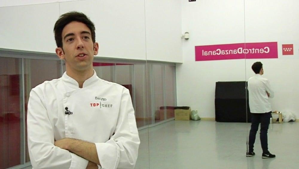 David de Top Chef: Tengo que afilar los cuchillos porque Marc puede sorprender