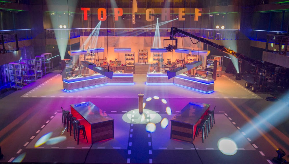 Escenario de Top Chef