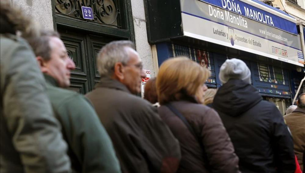 Doña Manolita, administración de Lotería