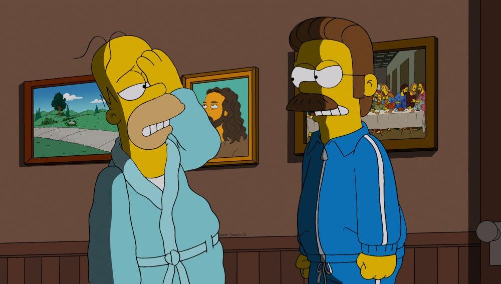 Los Simpson C523 'Por favor, ojo morado'
